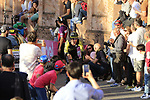Brent Brookwalter (USA) Mitchelton-Scott on the San Luca climb during Stage 1 of the 2019 Giro d'Italia, an individual time trial running 8km from Bologna to the Sanctuary of San Luca, Bologna, Italy. 11th May 2019.<br /> Picture: Eoin Clarke | Cyclefile<br /> <br /> All photos usage must carry mandatory copyright credit (© Cyclefile | Eoin Clarke)