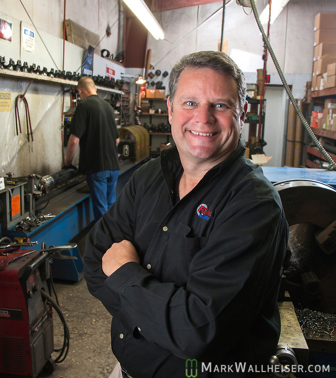 Joe Ward, owner of First Call Truck Parts in Tallahassee, Florida.