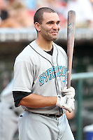 Syracuse Chiefs Danny Espinosa during a game vs. the Buffalo Bisons at Coca-Cola Field in Buffalo, New York;  August 30, 2010.  Syracuse defeated Buffalo 4-1.  Photo By Mike Janes/Four Seam Images