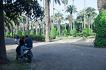 Young people find peace away from loud traffic and urban mayhem under rows of trees at the Ligue Arab Park in Casablanca.<br /> <br /> Ben Sklar for the New York Times