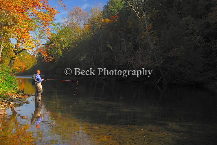Fall fly fishing in PA