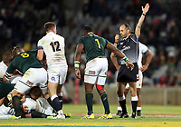 Referee:Romain Poste (France) during the 2018 Castle Lager Incoming Series 2nd Test match between South Africa and England at the Toyota Stadium.Bloemfontein,South Africa. 16,06,2018 Photo by Steve Haag / stevehaagsports.com