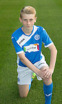 St Johnstone Academy Under 15&rsquo;s&hellip;2016-17<br />Ciaran Ferns<br />Picture by Graeme Hart.<br />Copyright Perthshire Picture Agency<br />Tel: 01738 623350  Mobile: 07990 594431