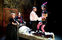 The City Madam by Philip Massinger. A Royal Shakespeare Company Production directed by Dominic Hill. With  Liz Crowther as Secret,Christopher Chilton as Ding'em, Nathaniel Martello-White as Goldwire, ,Pippa Nixon as Shave'em. Opens at The SwanTheatre  ,Stratford Upon Avon on 10/5/11  CREDIT Geraint Lewis
