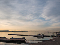 Varese. Lombardia. ITALY. General View. Varese Rowing Club. [Canottieri Varese] Province of Varese.  Sunset <br /> <br /> Monday  02/01/2017<br /> <br /> [Mandatory Credit; Peter Spurrier/Intersport-images]<br /> <br /> <br /> LEICA CAMERA AG - LEICA Q (Typ 116) - 1/640 - f4