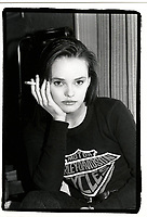 December 1989 - EXCLUSIVE File Photo - Vanessa Paradis