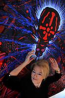Claudia Salaris, storica italiana, studiosa di storia delle avanguardie e del futurismo..Claudia Salaris, Italian historian, scholar of history of avant-garde and futurism..