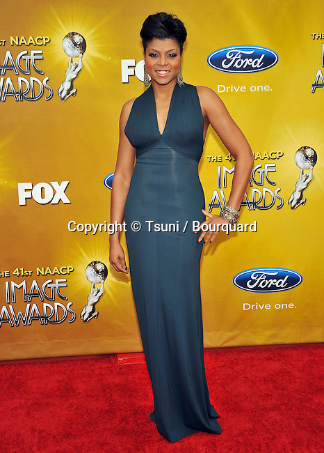 Taraji P Henson _63   -.41st NAACP Image Awards at the Shrine Auditorium in Los Angeles.