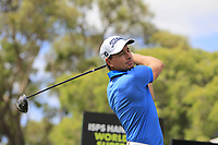Brett Rumford (AUS) on the 10th tee during the Pro-Am of the ISPS Handa World Super 6 Perth at Lake Karrinyup Country Club on the Wednesday 7th February 2018.<br /> Picture:  Thos Caffrey / www.golffile.ie<br /> <br /> All photo usage must carry mandatory copyright credit (&copy; Golffile | Thos Caffrey)