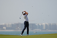 Robert Rock (ENG) on the 9th during Round 3 of the Oman Open 2020 at the Al Mouj Golf Club, Muscat, Oman . 29/02/2020<br /> Picture: Golffile   Thos Caffrey<br /> <br /> <br /> All photo usage must carry mandatory copyright credit (© Golffile   Thos Caffrey)