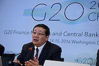 G20 ministers press conference