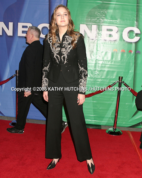 ©2005 KATHY HUTCHINS /HUTCHINS PHOTO.NBC/ UNIVERSAL TELEVISION CRITICS ASSOC.PARTY.UNIVERSAL CITY, CA.JANUARY 21, 2005..LEELEE SOBIESKI