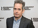 "Tom Hollander attends the ""Travesties"" Meets The Press on March 6, 2018 at the Roundabout Theatre in New York City."