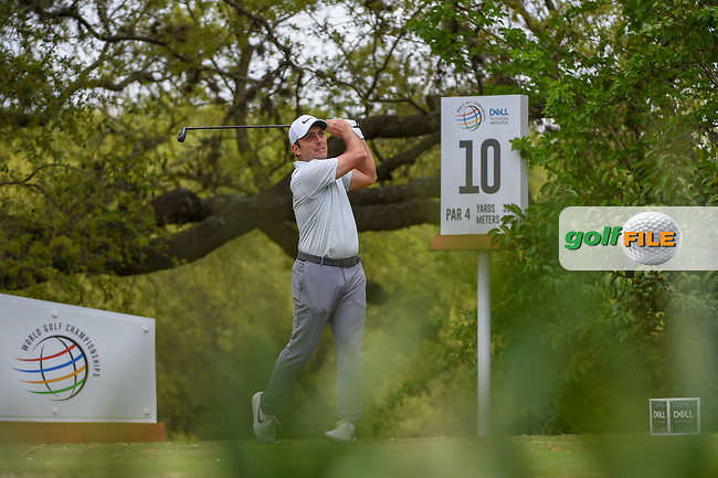 Francesco Molinari (ITA) watches his tee shot on 10 during day 4 of the WGC Dell Match Play, at the Austin Country Club, Austin, Texas, USA. 3/30/2019.<br /> Picture: Golffile | Ken Murray<br /> <br /> <br /> All photo usage must carry mandatory copyright credit (© Golffile | Ken Murray)