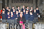 The boys of St Francis National School, Kenmare who were confirmed by Bishop Bill Murphy in the Holy Cross Church, Kenmare on Monday, March 12th.