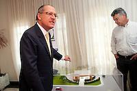 ATENCAO EDITOR: FOTO EMBARGADA PARA VEICULOS INTERNACIONAIS<br /> SAO PAULO, SP, 01 OUTUBRO 2012 - O governador Geraldo Alckmin durante comemoracao do Dia Internacional do Idoso no CRI (Centro de Referencia do Idoso), na zona norte da capital - Sao Paulo SP<br /> FOTO: POLINE LYS - BRAZIL PHOTO PRESS
