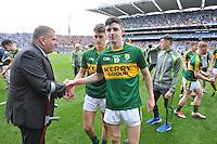 Kerry win the 2016 All-Ireland Minor Football Championship.<br /> Photo Don MacMonagle