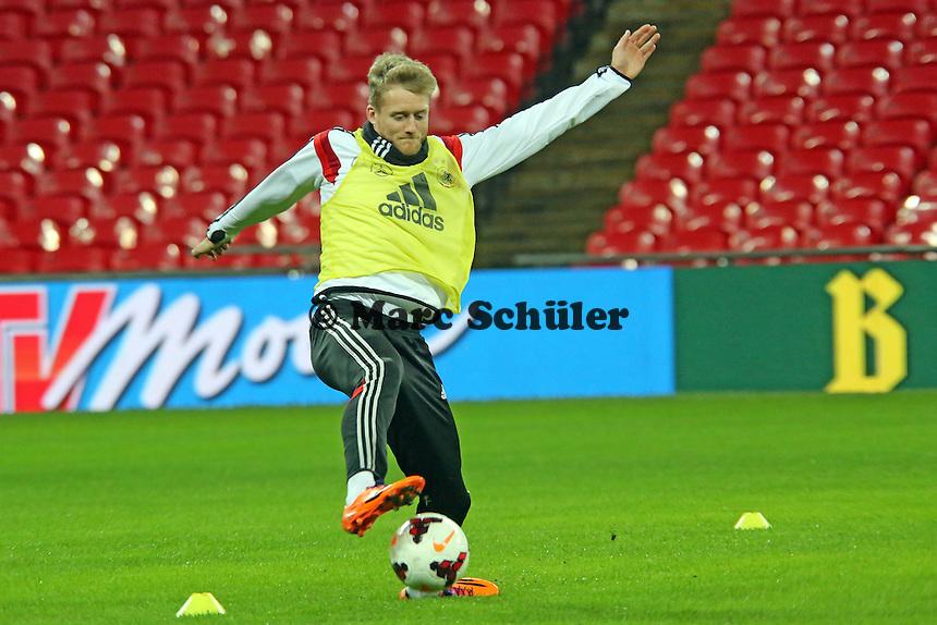 Andre Schürrle (D) - Abschlusstraining der Nationalmannschaft im Wembley Stadium