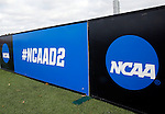 EASTON, MA - NOVEMBER 20:  NCAA signs are seen before the game between Shippensburg University and LIU Post in the NCAA Division II Field Hockey Championship at WB Mason Stadium on November 20, 2016 in Easton, Massachusetts.  Shippensburg University defeated LIU Post 2-1 for the national title. (Photo by Winslow Townson/NCAA Photos via Getty Images)