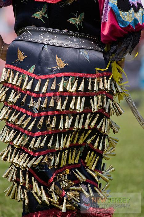 Traditonal Jingle Dress Dance, Nanticoke Lenni-Lenapi Indian Pow Wow