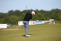 Florian Fritsch (GER plays second shot to the 12th during Round Two of the 2015 Nordea Masters at the PGA Sweden National, Bara, Malmo, Sweden. 05/06/2015. Picture David Lloyd | www.golffile.ie