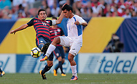 Cleveland, OH - Saturday July 15, 2017: Alejandro Bedoya during a 2017 Gold Cup match between the men's national teams of the United States (USA) and Nicaragua (NCA) at FirstEnergy Stadium.