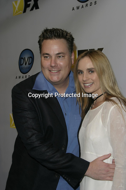 Robert Meyer Burnett &amp; wife Yalena<br />The 3rd Annual DVD Exclusive Awards<br />The Wiltern Theater LG<br />Los Angeles, CA, USA<br />December 2, 2003 <br />Photo By Celebrityvibe.com /Photovibe.com