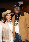 Monica and Maurice Milton at the 17th Annual Black Heritage Western Gala at the Reliant Center Saturday Jan. 30,2010.(Dave Rossman Photo)