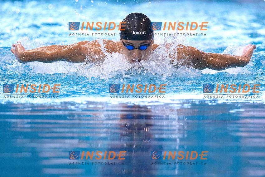 Francesco Pavone Italy men's 200m Butterfly.Debrecen 23/5/2012 .31st European Swimming Championships - Nuoto.Foto Insidefoto / Andrea Staccioli