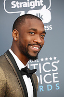 Jay Pharoah attends the 23rd Annual Critics' Choice Awards at Barker Hangar in Santa Monica, Los Angeles, USA, on 11 January 2018. Photo: Hubert Boesl - NO WIRE SERVICE - Photo: Hubert Boesl/dpa/dpa-mag /MediaPunch ***FOR USA ONLY***