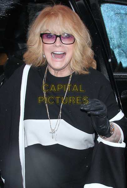 NEW YORK, NY - MARCH 28: Ann-Margret seen arriving to AOL Build In New York City on March 28, 2017. <br /> CAP/MPI/RW<br /> &copy;RW/MPI/Capital Pictures