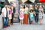 "Full cast of the film during the presentation of the spanish film "" La Puerta Abierta"" in Madrid. August 31, Spain. 2016. (ALTERPHOTOS/BorjaB.Hojas)"