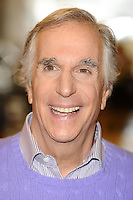 "Henry Winkler at the photocall for ""Happy Days The Musical"" at Ed's Easy Diner, Trocadero, London. 08/01/2014 Picture by: Steve Vas / Featureflash"