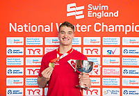 Picture by Allan McKenzie/SWpix.com - 14/12/2017 - Swimming -Swim England Winter Champs - Ponds Forge International Sports Centre - Sheffield, England - James Wilby.