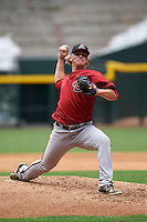 Arizona Diamondbacks pitcher Breckin Williams (19) during an instructional league game against the San Francisco Giants on October 16, 2015 at the Chase Field in Phoenix, Arizona.  (Mike Janes/Four Seam Images)