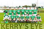 The  Ballyduff  team that played Tousist in the County Novice semi final in Kilcummin on Saturday