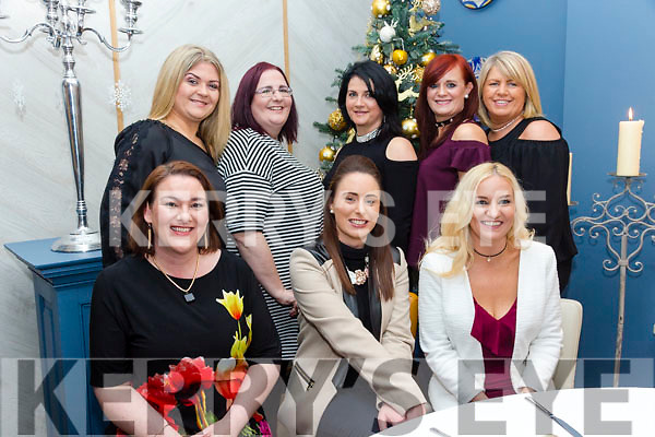 Enjoying the Aspen Grove / Assess Ireland Thanks giving Dinner at Benners Hotel on Friday were front l-r Deirdre O Regan, Lorraine Mason, Noelle O'Brien Back l-r Celia Lynch, Lila Jacob, Mairead O Mahony, Michelle Keane, Helen Mansell