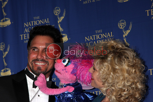 LOS ANGELES - JUN 20:  Don Diamont, Abby Cadabby at the 2014 Creative Daytime Emmy Awards at the The Westin Bonaventure on June 20, 2014 in Los Angeles, CA