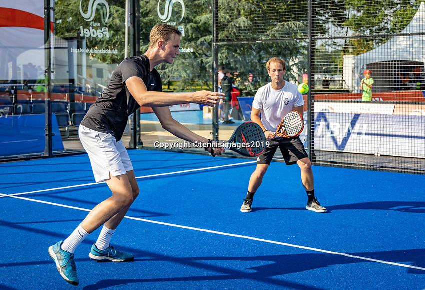 Rosmalen, Netherlands, 15 June, 2019, Tennis, Libema Open, NK Padel, <br /> Photo: Henk Koster/tennisimages.com