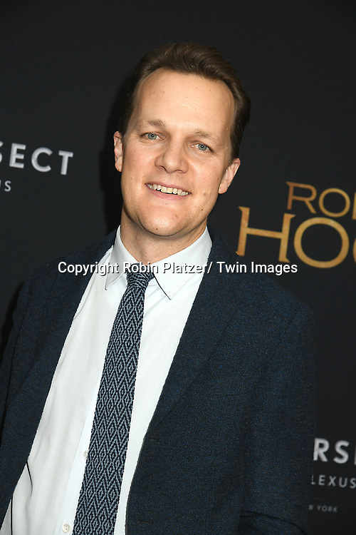 "Director Otto Bathurst attends the New York Special Screening of ""Robin Hood"" on November 11, 2018 at AMC Lincoln Square in New York, New York, USA.<br /> <br /> photo by Robin Platzer/Twin Images<br />  <br /> phone number 212-935-0770"