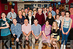 30 rocks<br /> =======<br /> Graham Guerin,Ballyduff (seated centre) had a great musical night in Brownes bar,Ballyduff along with many friends and family