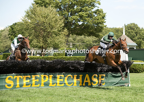 Quiet Approval leads Wantan to the wire at the Open House.