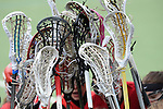Frankfurt am Main, Germany, March 14: Before the Damen 1. Bundesliga West Lacrosse match between SC 1880 Frankfurt and Duesseldorfer Hirschkuehe on March 14, 2015 at the SC 1880 Frankfurt in Frankfurt am Main, Germany. Final score 20-13 (13-8). (Photo by Dirk Markgraf / www.265-images.com) *** Local caption ***