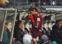 Torwart Yann Sommer (Borussia Mönchengladbach) wird ausgewechselt - 26.01.2018: Eintracht Frankfurt vs. Borussia Moenchengladbach, Commerzbank Arena