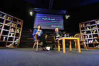 Saturday 24 May 2014, Hay on Wye UK<br /> Pictured: Hilary Heilbron (L).<br /> Re: The Telegraph Hay Festival, Hay on Wye, Powys, Wales UK.