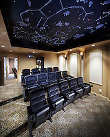 Customize any home theater in any way - like with a star ceiling!