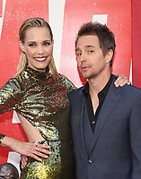 WESTWOOD, CA - JUNE 7: Sam Rockwell, Leslie Bibb, at the World premiere of Tag at the Regency Village Theatre in Westwood, California on June 7, 2018. <br /> CAP/MPIFS<br /> &copy;MPIFS/Capital Pictures