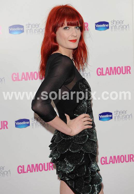 **ALL ROUND EXCLUSIVE PICTURES FROM SOLARPIX.COM**.**WORLDWIDE SYNDICATION RIGHTS**.Inside arrivals at the Glamour Women of the Year Awards 2010.  Held in Berkley Square, London, on Tuesday June 08, 2010...This pic: Florence welch..JOB REF:11427       SSD     DATE:08.06.2010.**MUST CREDIT SOLARPIX.COM OR DOUBLE FEE WILL BE CHARGED**.**MUST AGREE FEE BEFORE ONLINE USAGE**.**CALL US ON: +34 952 811 768 or LOW RATE FROM UK 0844 617 7637**