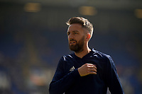 Ipswich Town's Cole Skuse during the pre-match warm-up <br /> <br /> Photographer Hannah Fountain/CameraSport<br /> <br /> The EFL Sky Bet Championship - Ipswich Town v Swansea City - Monday 22nd April 2019 - Portman Road - Ipswich<br /> <br /> World Copyright © 2019 CameraSport. All rights reserved. 43 Linden Ave. Countesthorpe. Leicester. England. LE8 5PG - Tel: +44 (0) 116 277 4147 - admin@camerasport.com - www.camerasport.com