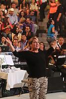 Lupita Dalessio,  palenque Expogan 2013